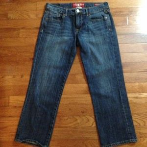 LUCKY BRAND Crop Jeans Size 4 EUC